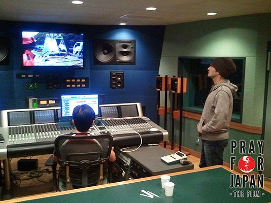 Refining the audio mix.