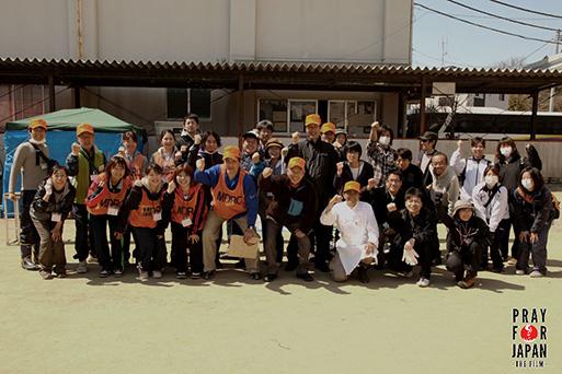 Network Miyagi volunteers.