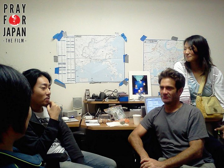 At the Burbank Post Production office with the core editorial team.