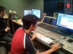 Ben Chan came to Japan from Los Angeles to help with the audio mix.