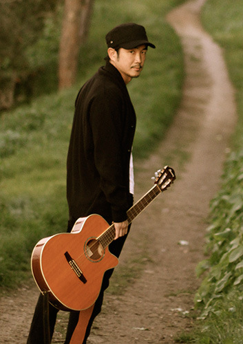Shinya Mizoguchi, our film composer, actually has music in his DNA. Both his parents are Jazz musicians and his genre is Electronic Dance Music. His very modern stuff is rooted in a strong foundation of musicianship.